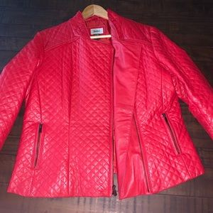 Leather Neiman Marcus Jacket